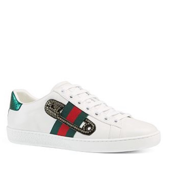 132b2128340 Gucci Limited Edition Safety Pin Sneaker